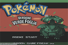 Pokemon-Leaf Green Version