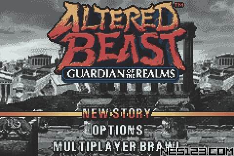 Altered Beast - Guardian Of The Realms