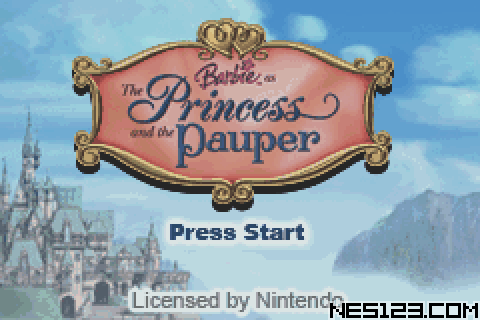 Barbie - The Princess And The Pauper