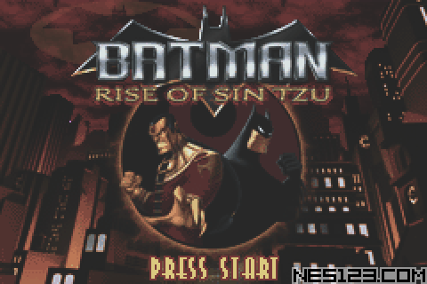 Batman - Rise Of Sin Tzu