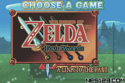 Legend Of Zelda, The - A Link To The Past And Four Swords