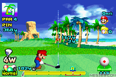 Mario Golf - Advance Tour