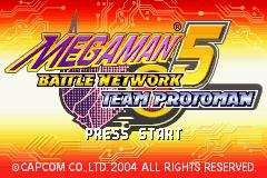 Megaman Battle Network 1-6