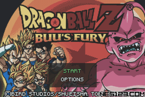 2 Games In 1 - Dragon Ball Z - Buu's Fury + Dragon Ball Gt - Transformation