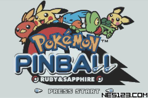 Pokemon Pinball - Ruby And Sapphire