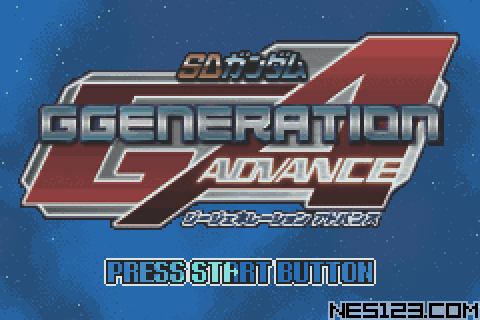 Sd Gundam G-Generation Advance