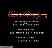 Wizardry - Proving Grounds of the Mad Overlord