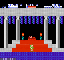 Zelda II-The Adventure of Link