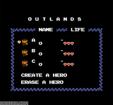 Zelda Outlands