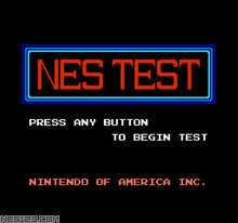 NES Test Cart (Official Nintendo)