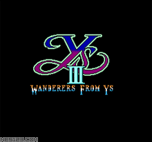 Ys 3-Wanderers From