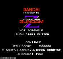 Mobile Suit Z Gundam-Hot Scramble