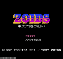 Zoids-Chuuou Tairiku No Tatakai