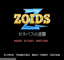 Zoids 2-Zenebasu No Gyakushuu