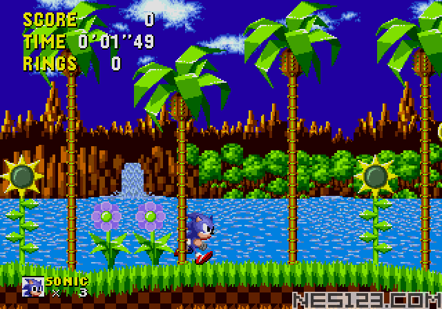 An Ordinary Sonic ROM Hack (beta)