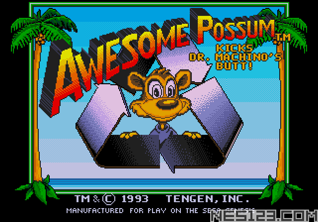 Awesome Possum