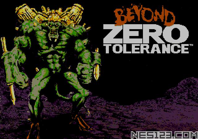 Beyond Zero Tolerance