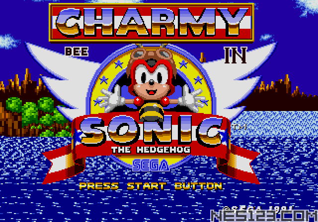 Charmy Bee in Sonic the Hedgehog