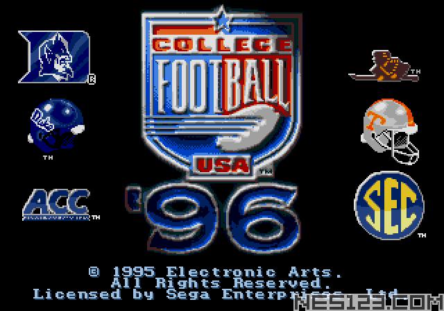 College Football USA 96