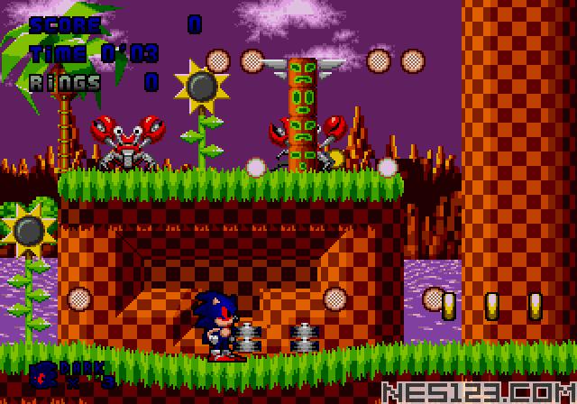 Dark Sound the Hedgehog (Sonic 1 hack)