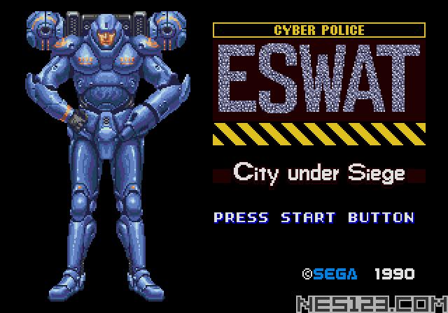 ESWAT Cyber Police City Under Siege