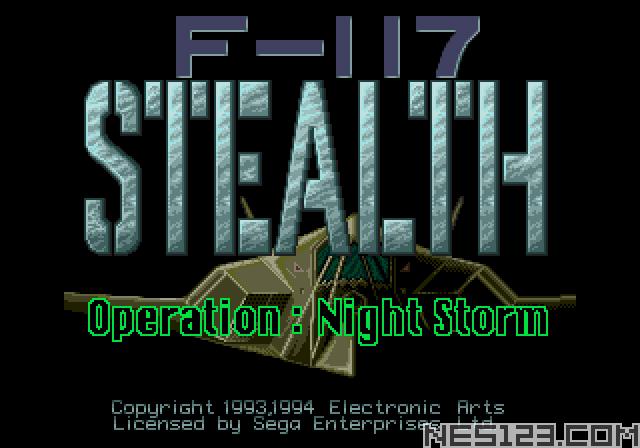 F-117 Stealth Operation Night Storm