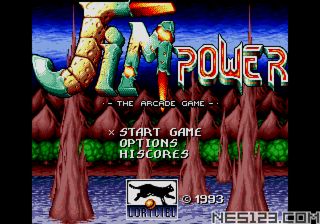 Jim Power – The Arcade Game