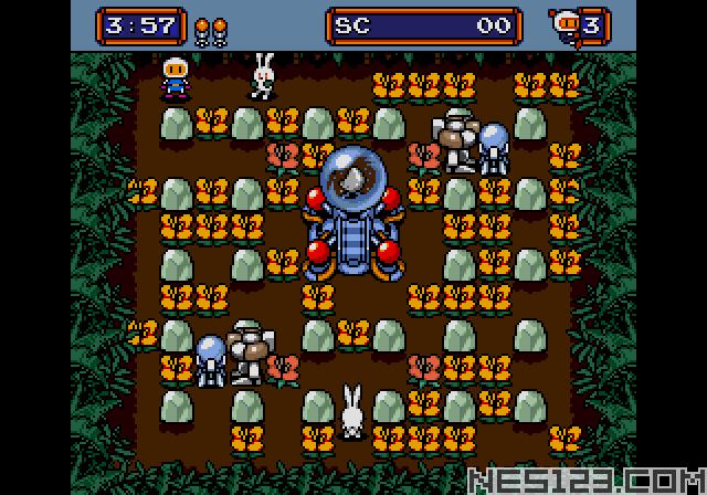 Mega Bomberman