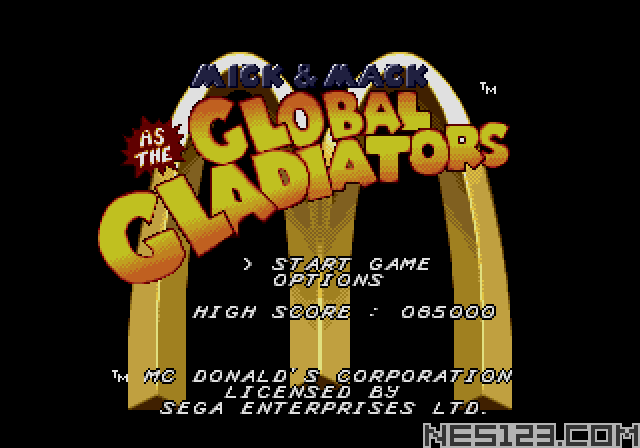 Mick & Mack Global Gladiators