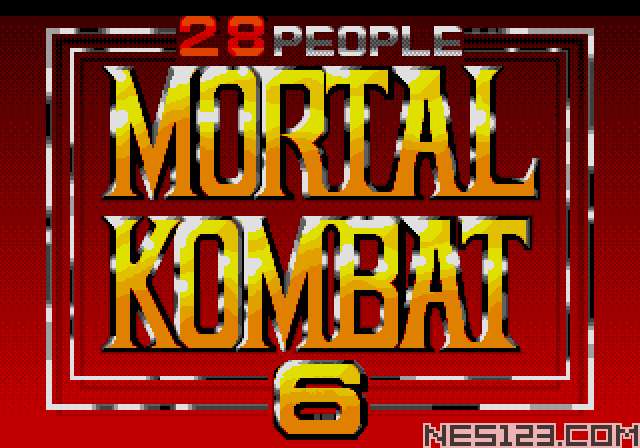 Mortal Kombat 6 (28 People)