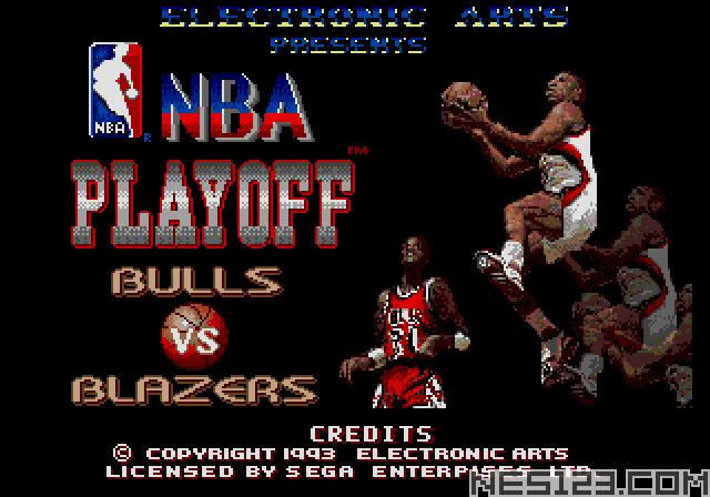 NBA Playoff - Bulls vs Blazers