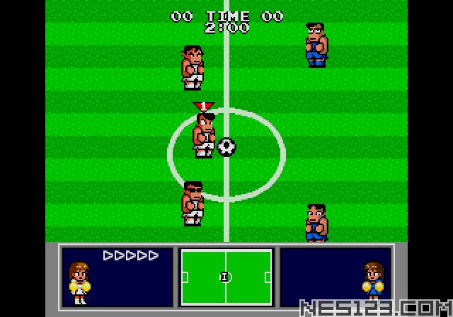 Nekketsu Koukou Dodgeball Bu – Soccer Hen