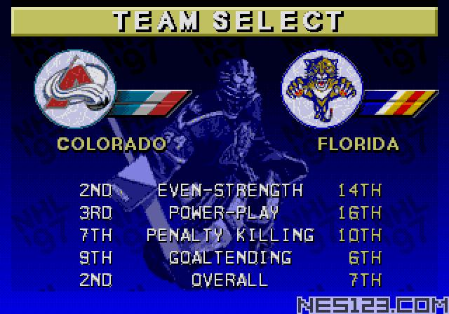 NHL Hockey 97