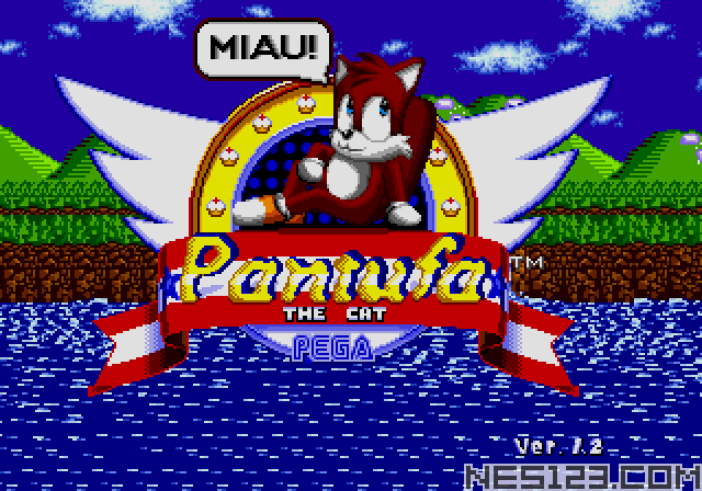 Pantufa the Cat (Sonic 1 hack)