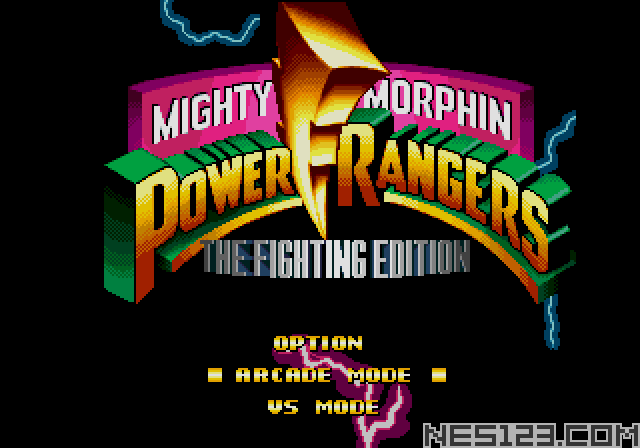 Mighty Morphin Power Rangers The Finghfing