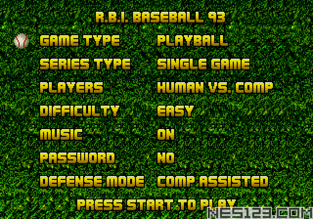 RBI Baseball '93