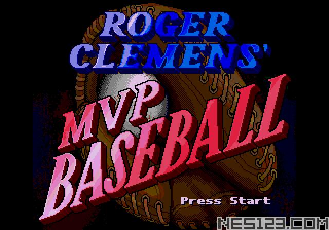 Roger Clements' MVP Baseball
