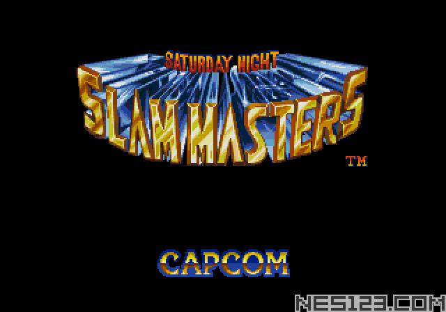 Saturday Night: Slam Masters