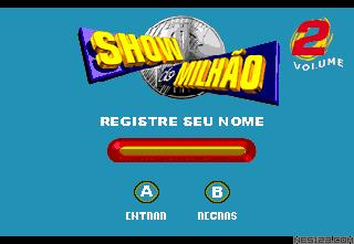Show do Milhao Volume 2