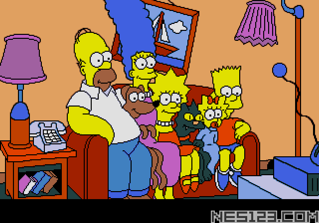 Simpsons, The - Bart vs The Space Mutants