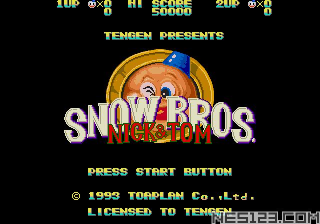 Snowbros: Nick & Tom