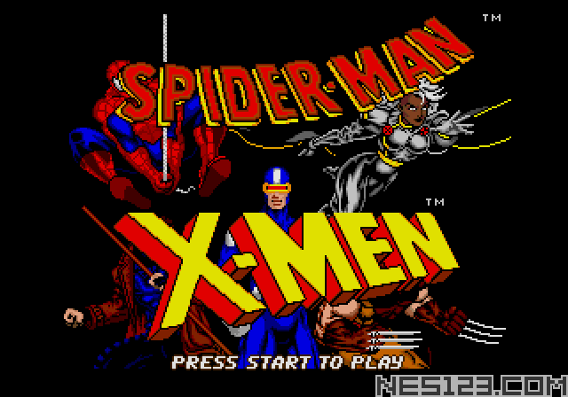 Spiderman and X-Men - Arcade's Revenge