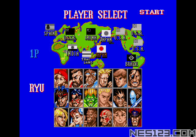 Street Fighter 3 18 Person