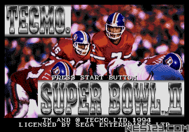 Tecmo Super Bowl II