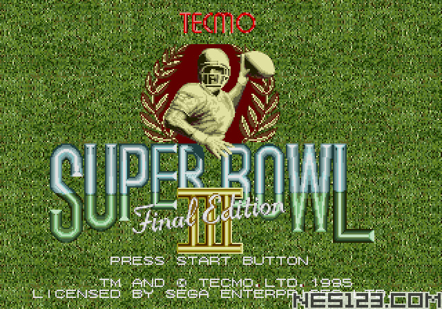 Tecmo Super Bowl III