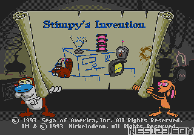 Ren and Stimpy Show, The - Stimpy's Invention