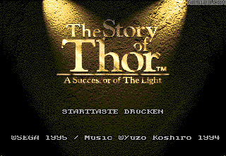 Story of Thor, The - A Successor of The Light