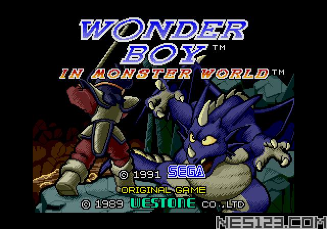 Wonderboy in Monster World