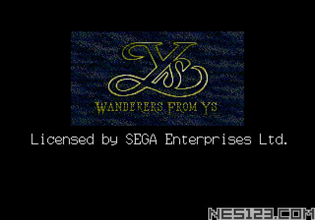 Ys III – Wanderers from Ys