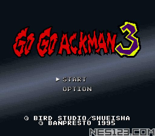 Go Go Ackman 3